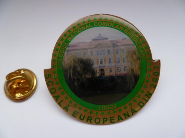 insigne metalice personalizare print cu rasina